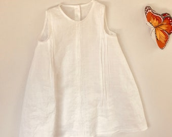 Linen dress for 5-6 year old