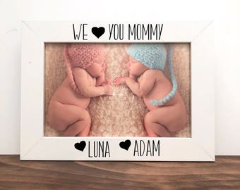 We love you Mommy Picture Frame, Gift for Mom, Mom Gift, Picture Frame for Mom, Mother's Day Gift
