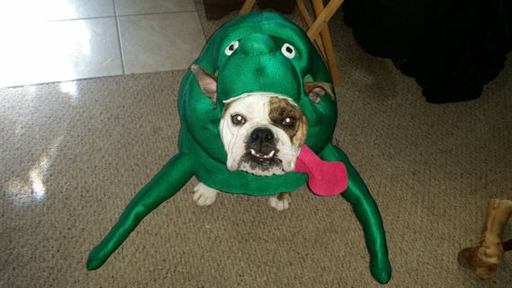 & Ghostbusters dog costume Slimer deluxe