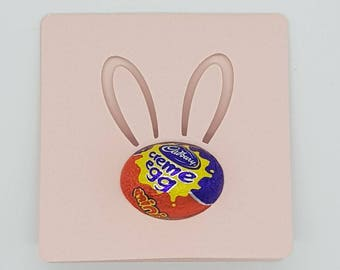 Easter Egg Holder Card