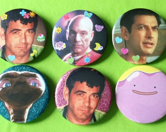 One Of A Kind Collage 45mm Badge Pin Button