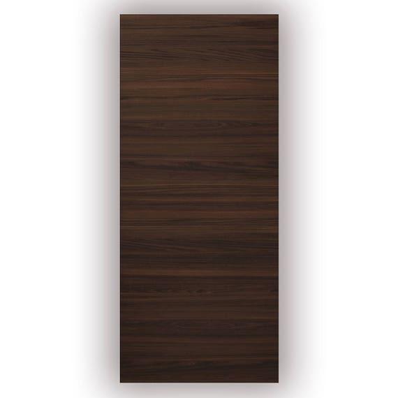 Planum 0010 Interior Door Slab Chocolate Ash No Pre Drilled