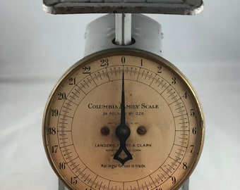 Vintage Columbia Family Scale