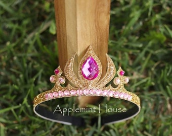 Aurora Crown, Aurora Tiara, Sleeping Beauty Crown, Birthday Aurora Crown, Sleeping Beauty Tiara, Sleeping Beauty Birthday, Aurora Headband