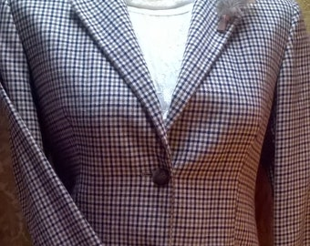 AQUASCUTUM RIDING JACKET top quality vintage size 16 (uk)  beautiful perfect for Steampunk modification H.G Wells tastic explorer