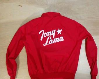 Vtg Tony Lama Bomber - Large