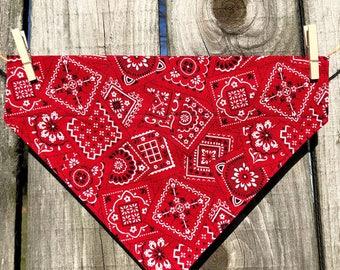 Dog Bandana - Handkerchief (Over-the-collar)