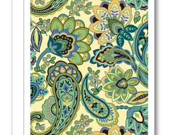 Paisley Greeting Card BP20