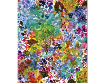 Spring Garden Wrapping Paper