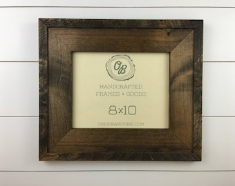 Rustic Farmhouse Picture Frame // Wooden Picture Frame // Rustic Frame // 8x10 // 11x14 // 16x20 // 5x7