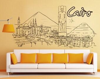 Vinyl Wall Decal Sticker Cairo 1379s