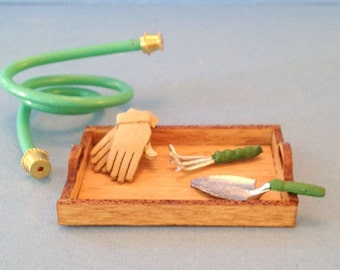 1:12 Dollhouse Miniature Gardening kit/ Miniature gardening DI DF118