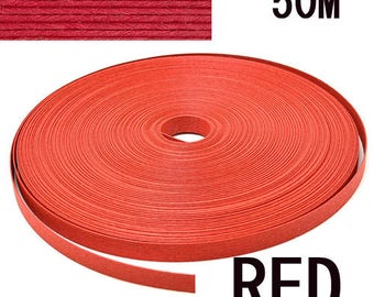 "Japanese Eco Craft Tape""Paper Band Red 50m""[RAP00000555]"