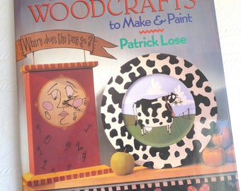 Whimsical Woodcrafts, The Crafts Book, Instructions, Craft Patterns, Home Decor, Gift Ideas, Woodworking Ideas, Paint, Unique Fun Patterns