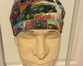 Men's scrub cap