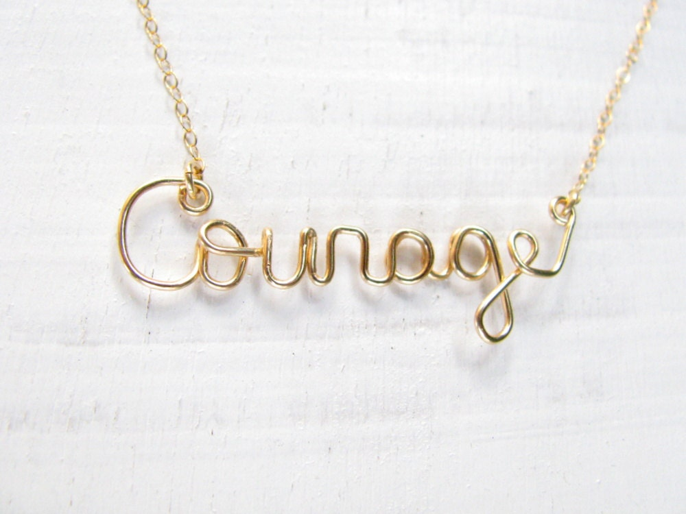 shop have plated kind minimalist necklace charm be products our product and gold in courage ribbon card