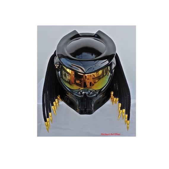 predator helm custom helm handgemachter helm airbrush helm. Black Bedroom Furniture Sets. Home Design Ideas