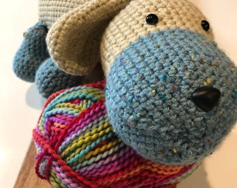 Benny the Dog Crochet Pattern