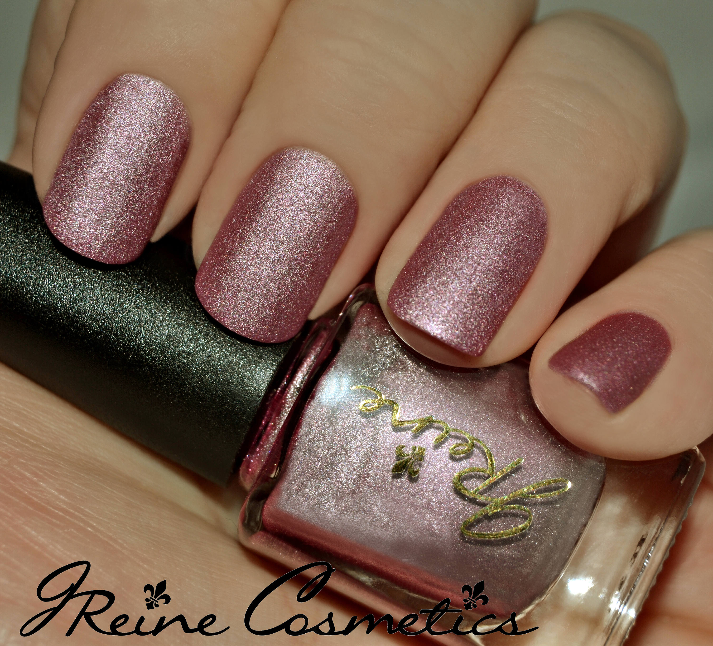 Taffy Metal Pink Metallic Matte Nail Polish