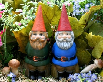 Custom Gnome - Garden Gnome Statue - Your Choice of Colors - Concrete Gnome