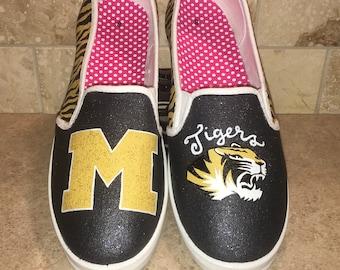 Mizzou MU Tigers women's shoes