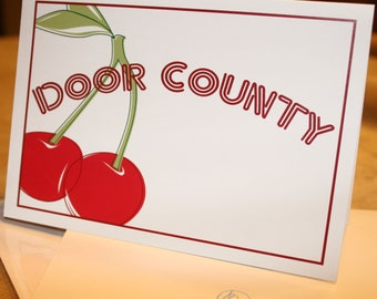 Door County Blank Note Card
