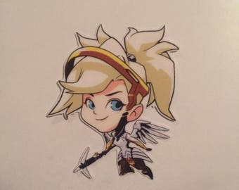 Clear // Mercy's Cute Sticker