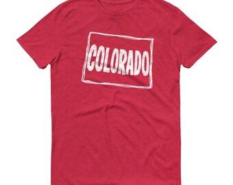 Colorado T-shirt, Colorado Tee, Colorado, State of Colorado