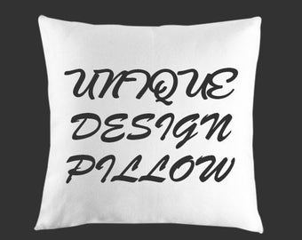 Throw Pillow, Decorative pillow covers, Custom Decorative  pillow, cushion Pillow,  Design Your Own Pillow, Home Decor