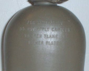 US Army polyethelene 1-Quart canteen dated 1964; Vietnam War era WITH LEAKS