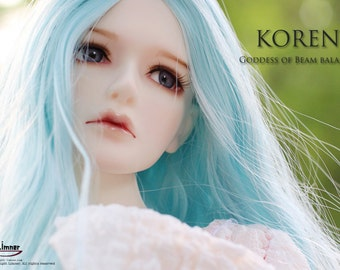 BJD Light Limner Doll - Koren(Head Only)