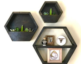 Hexagon Planter || Living Wall || Vertical Garden || Wall Planter || Hanging Planter
