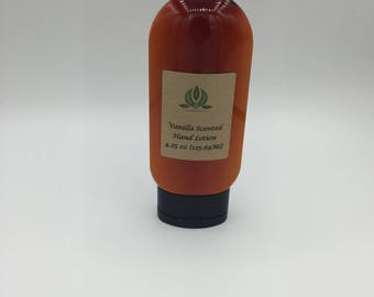Vanilla hand and body lotion