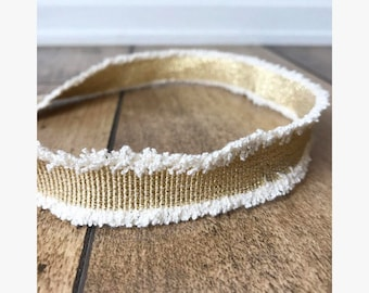 Frayed Gold Choker