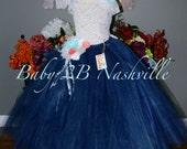 Sequin Lace Flower Girl D...