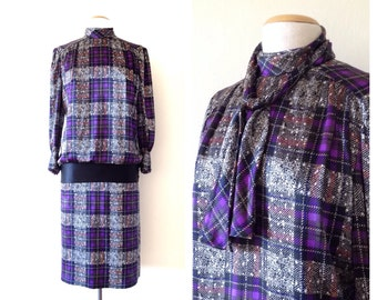 silk midi dress vintage 20s style dresses drop waist dress 1920s style avant garde long sleeve large