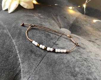 FAITH - morse code bracelet