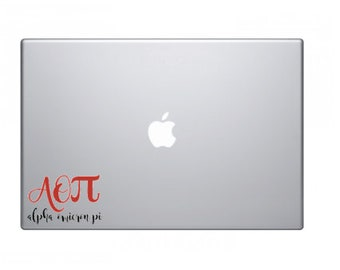 Sorority/Fraternity Greek Letter Decal for phone cases, laptops- COMPLETELY CUSTOMIZABLE!