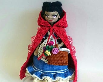 Doll little Red riding hood