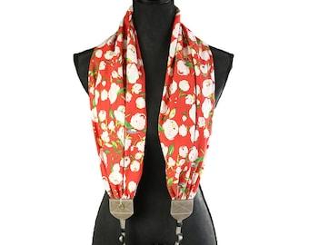 scarf camera strap warm cotton - BCSCS139