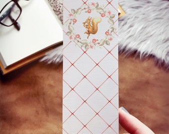 Squirrel Nutkin Bookmark, Peter Rabbit Bookmark, Beatrix Potter Bookmark, Peter Rabbit Party Favor