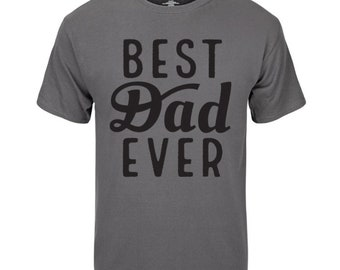 Grey Fathers Day Shirt