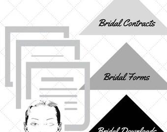 Makeup Artist (MUA) Bridal Business forms