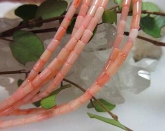 Engelshautfarbener strand of Bambookoralle rollers 2.5 mm 40 cm