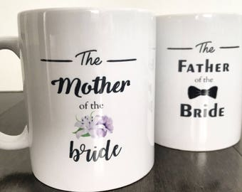 Gift for Mother and Father of the Bride, wedding gifts for parents, gift ideas