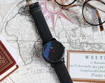 Watch for Men, Black Watch, Watches for Men, Mens Watches, Watch for Dad, Watch for Husband,Watch for Boyfriend,Birthday Watch, Gift Watches