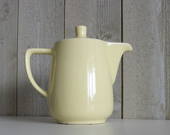 Yellow Melitta Coffee Pot Vintage, Retro Coffee Pot Yellow Teapot, Melitta Teapot, Yellow Coffee Pot, Yellow Tea Pot Vintage Teapot (D251)