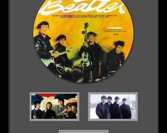 The Beatles - Picture Disc LP Album Custom Framed