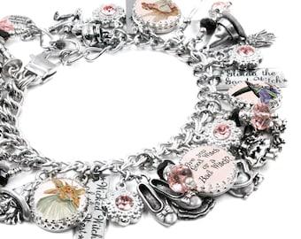 Good Witch or Bad Witch, Witch Charm Bracelet, Wiccan Jewelry, Good Witch Jewelry, Wizard of Oz Jewelry, Wizard of Oz Charms