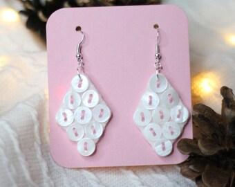 Sugar Angel Earrings Mother of pearl